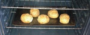 Five Buns in my oven