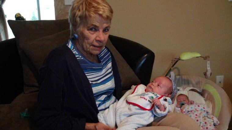 Theo & Grandma Vanderwall