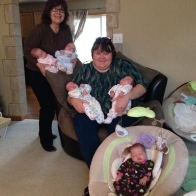 Kristy, Nana & the Kiddos