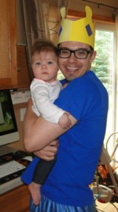 Dad & Bella on Father's Day!